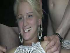Group Bang Knuckle Fucked Unexperienced Nymphomaniac