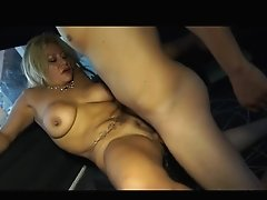 Sexy Colombian Mummy Fucking In The Taxi