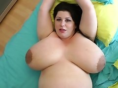 Largest Breasts Ever On A Nine Month Preggo Mummy