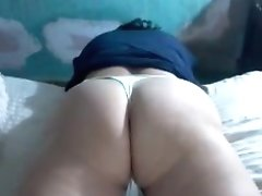 Round Mature Bum In Panty