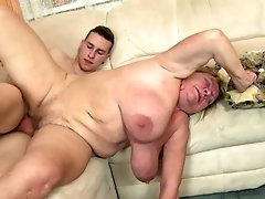 World's Best Granny Suck And Fuck Youthfull Lucky Boy