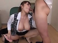 Rough Porno Session With Big Tits Mummy, Rion N