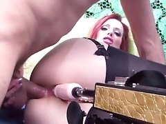 Shanda Fay Gets Fucked With Dick & Fuck Machine!