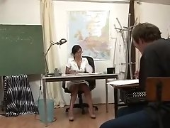 Horny Amateur Clip With Threesome, Brunette Scenes