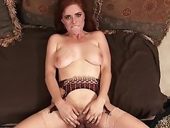 Chesty Redhead Housewife Penny Pax Take Prick