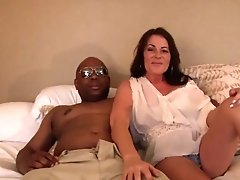 Best Pornstar In Horny Mature, Interracial XXX Clip