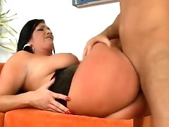 Horny Milf Jumps On A Thick Rod