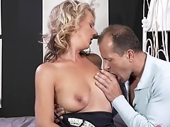 Horny Pornstars George, Luci Angel In Hottest Milf, Small Tits Adult Movie
