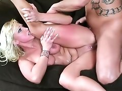 Stacked Blonde Mom Nikki Hunter Reveals Her Passion For Rough Anal Sex