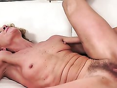 Blonde And Hot Blooded Guy Have Oral Sex On Camera For You To Watch And Enjoy