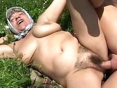Granny Have Fun Outdoor
