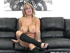 Horny Pornstar Alyssa Lynn In Exotic Fake Tits, Big Ass Adult Scene