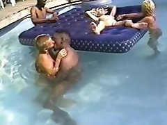 Cuckold Wives Interracial Pool Fuck