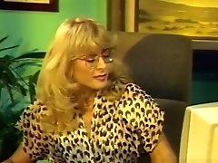 Incredible Pornstar Nina Hartley In Fabulous Mature, Blonde Adult Scene