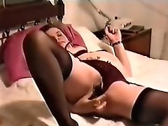 Exotic Amateur Clip With Stockings, Solo Scenes