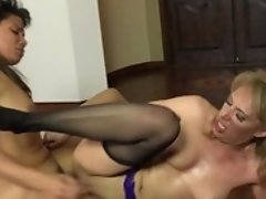 Teen Finds Herself Getting Boned By Horny Guy Again And Again In Interracial Action