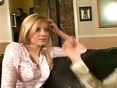 Sexy Mom Entertains With Teenager