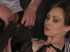 Horny Pornstars Yasmin Scott, George In Amazing Big Tits, Romantic Sex Scene
