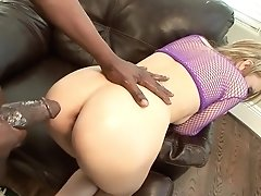 Horny Blonde Mom Holly Wellin Has A Big Black Rod Stretching Her Holes