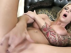 Brooke Banner With Smooth Muff Cant Live A Day Without Dildoing Her Fuck Hole  - Naked Videoclip Pornalized.com