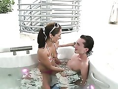 Brunette Reena Sky With Round Butt Is Good On Her Way To Make Hot Dude Ejaculate On Oral Action