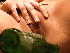 Blonde Sasha Opens Her Legs To Fuck Herself, Take Toy In Her Dripping Wet Slit