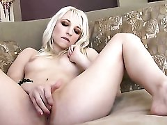 Ashley Jane With Tiny Tits And Clean Twat Puts On A Solo Show You Cant Miss