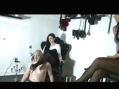 Mistress  Trampling  Kicking And Humiliating