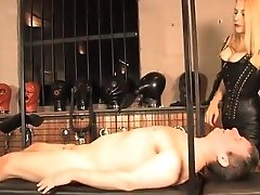 Blonde Mistress Electrical Sounding Cock