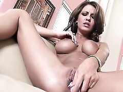 Warm Temptress Lexi Stone With Massive Hooters And Hairless Bush Has A Lot Of Sexual Energy To Spend And Does It Alone!