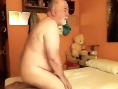 Mature Bear Daddy Fucked Right