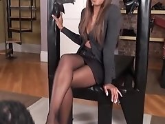 Mistress Playing With Slave