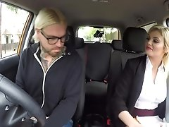 Katy Jayne In Failed Test Leads To Back Seat Sex