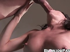 Milf Lexi Foxy Sucks Thick Cock And Receives Cum In Mouth