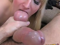 Fakeagentuk Tall Blonde Mummy Fucked On Couch