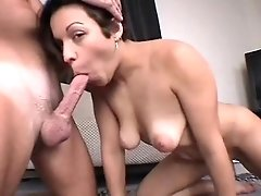 Wifey With Saggy Tits Fellate Job