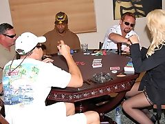 Winning Blonde Sexy Milf At Poker