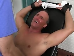 Sebastian In Mature Guy Sebastian Immobilized And Tickled With Feathers - Myfriendsfeet
