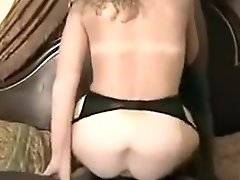 Black Dudes Loves Wet Pussy Of Blonde MILF And Tears It Apart With Their Big Dicks