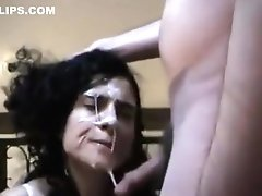Real Cheating Mom Sucks Like A Pro