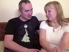 Mom And Dad In Real Pornography Casting Because Need Money