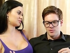 Brit Mummy Jasmine Jae Fucks Immigration Officer