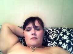 Solo Milf Rabbit Toy Masturbating On The Bed With Wonderful Orgasm