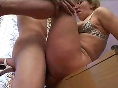 Russian Mature Rectal Mom And Her Boy! Inexperienced!