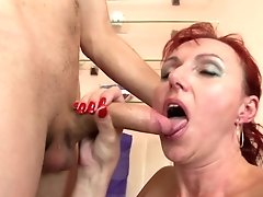 Sexy Natural Mature Mom Suck And Fuck Youthfull Boy