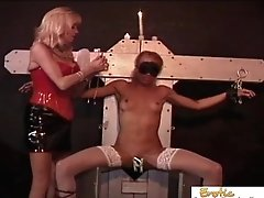 Classy Female Gimp Predominated By A Mature Woman