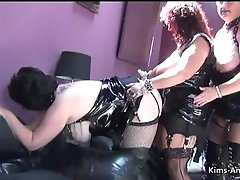 Chesty Brit Matures In Pvc