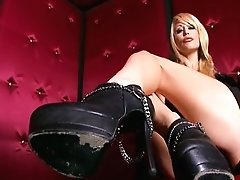 Monique Alexander Hot Footjob