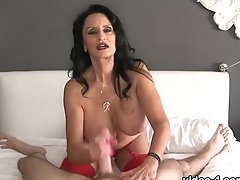 Rita Daniels: Fantastic Fan Milking - Over40handjobs