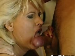 Hairy Pussy Blonde Mature Fum### By Two Cock